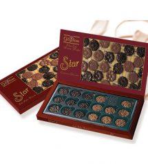 Elit Gözdem Çikolata Star Bordo Kutu 246 Gr