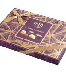 Luxury Praline Spesiyal Çikolata Mor Kutu 228g